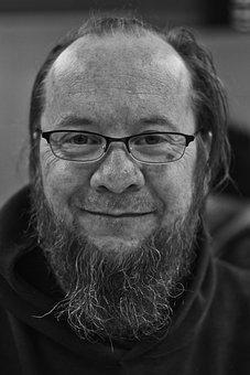 Beard, Old Man, Male, Portrait, Face, Person, Man