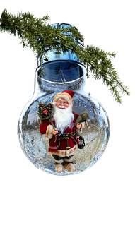 Christmas, Bulb, Pere Noel, Decoration, Ornament