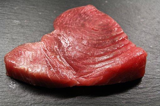 Tuna, Fish, Tuna Steak, Benefit From, Protein, Kitchen