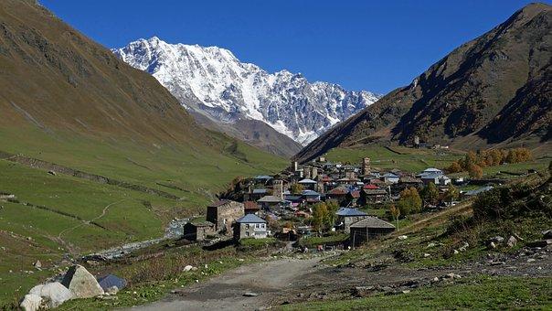 Georgia, Ushguli, Caucasus, Svaneti
