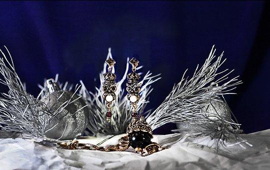 New Year's Eve, Winter, Jewelry, Earrings, Bracelet