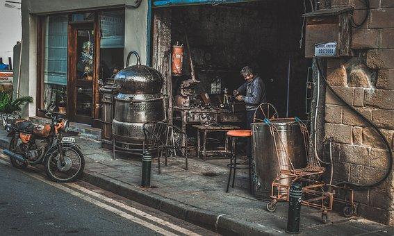 Old Town, Workshop, Street, Craftsman, Artisanship