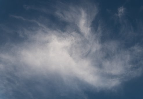 Clouds, White, Grey, Weather, Sky, Background, Texture