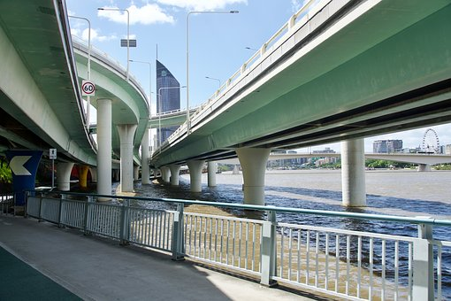 Bridges, Highway, Flyover, Transportation, Network