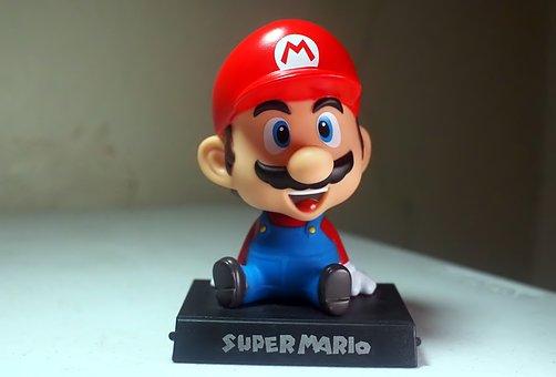 Mario, Brothers, Toy, Action, Figure, Cartoon, Anime