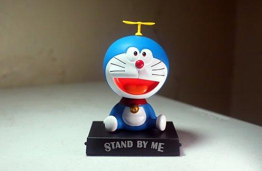 Toy, Doraemon, Robot, Cat, Future, Japanese, Anime
