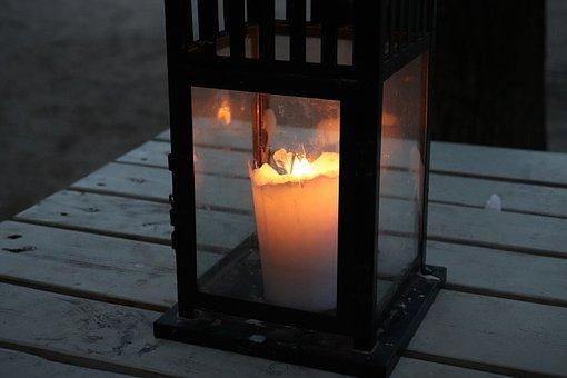 Candle, Lantern, Advent, Christmas Decoration, Dark