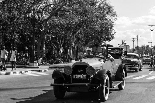 Cuba, Havana, Teatro Nacional, Nostalgia, Historic
