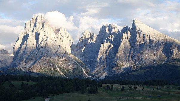Alpe De Siusi, Dolomites, View