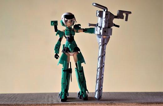 Toy, Figurine, Action, Japanese, Anime, Cartoon