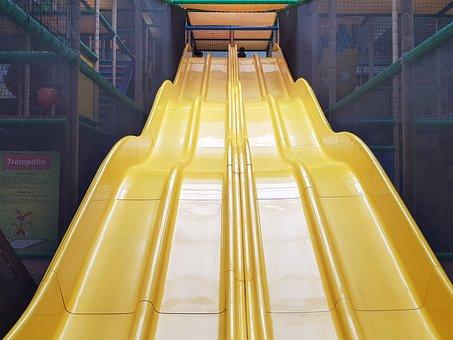 Slide, Play, Playground, Children's Playground, Fun