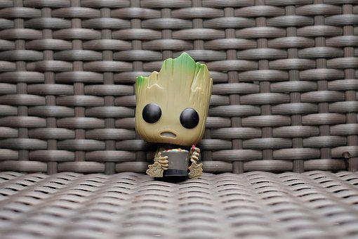 Funko, Pop, Babygroot, Collection, Toys, Groot