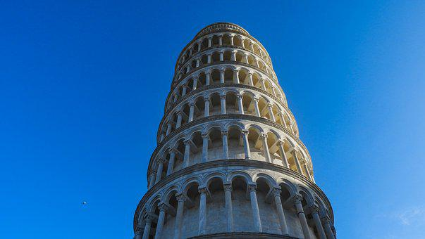 Tower Of Pisa, Pisa, Italy, Tuscany, City, Lungarno