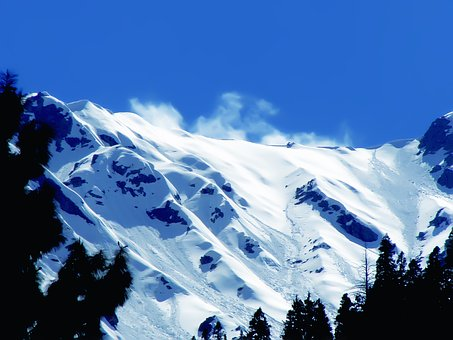 Winter, Snow, Mountains, Landscape, Nature, Cold