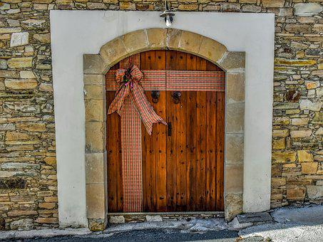 Old House, Door, Architecture, Traditional, Entrance