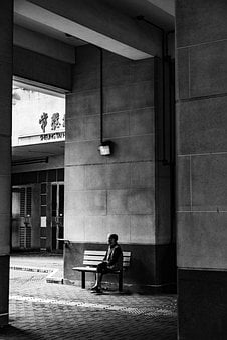 Hong Kong, The Old Man, Kowloon Bay, Asia, Old Woman