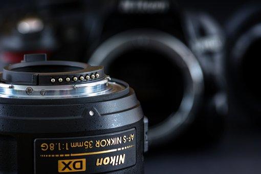 Lens, Camera, Nikon, Contacts, Photography