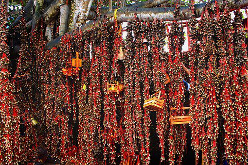 Hindu Temples, Bells, Hinduism, Religion, Mysterious