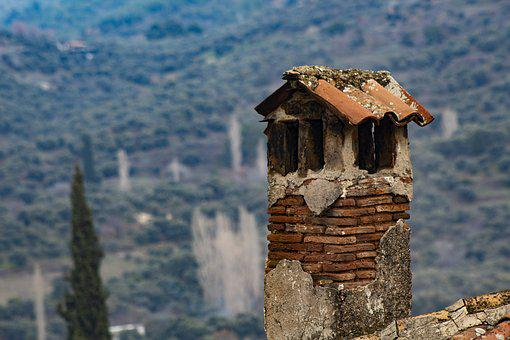 Chimney, Home, Old, Roof, Building, Architecture