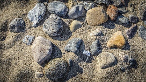 Stones, Stone, Sand, Background, Pebble