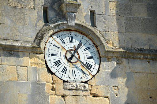 Clock, Time, Hours, Minutes, Pointer, Seconds, Old