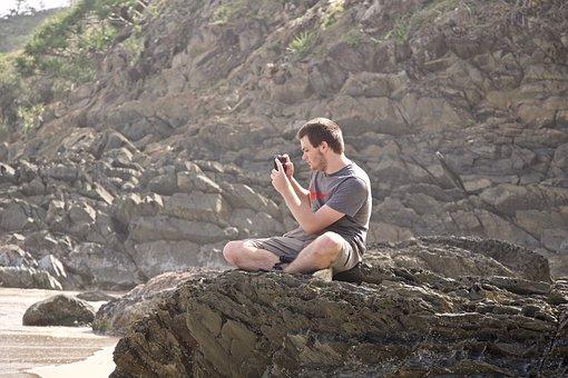 Photographer, Concentration, Photo, Focus, Shot