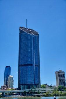 Skyscraper, Brisbane, City, Australia, Skyline