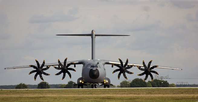 Airbus Military A400m, Seville, Spain