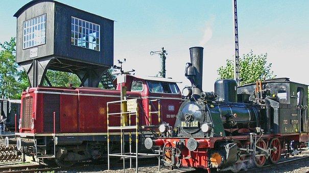 Railway Museum, Steam Locomotive, Diesel Locomotive