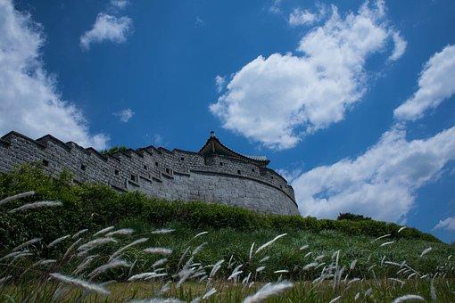 Unesco, Suwon Hwaseong, High, Suwon, Castle