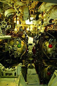 Uss Razorback Torpedo Room, Submarine, Torpedo, Room