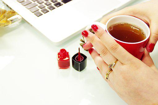 Varnish, Red, Girl, Manicure, Beauty, Makeup, Colorful
