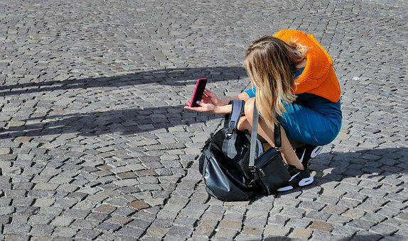 Selfie, Photo, Camera, Smartphone, Woman, Person, Phone