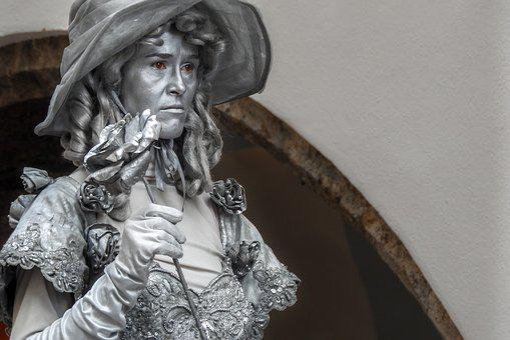 Woman, Austria, Sculpture, Nature, Vienna, Historically