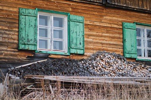 Window, Shutters, Facade, Wood, Wooden Windows, Wall