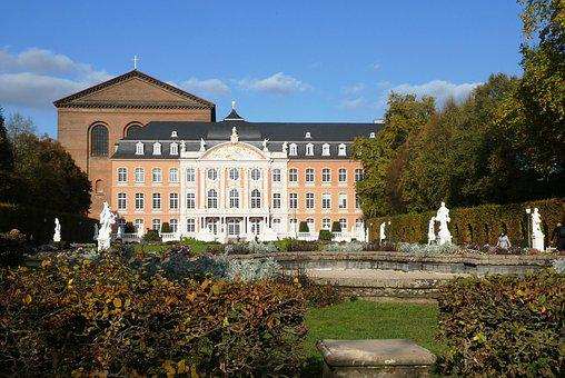 Electoral Palace, Trier, Autumn, Building, Germany