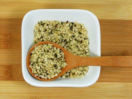 Cannabis Seeds, Hemp, Raw, Bio, Protein, Healthy, Omega