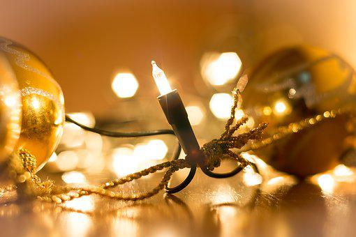 Christmas, Lichterkette, Christmas Lights, Decoration