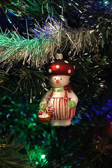 Winter, New Year's Eve, Christmas, Christmas Tree, Toys