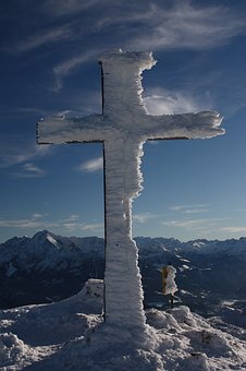 Winter, Snow, Ice, Cold, Alpine, Frost, Crystals, Sky