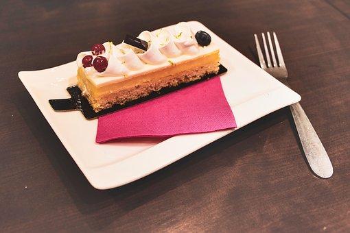 Dessert, Gourmet, White Chocolate, Scrumptious