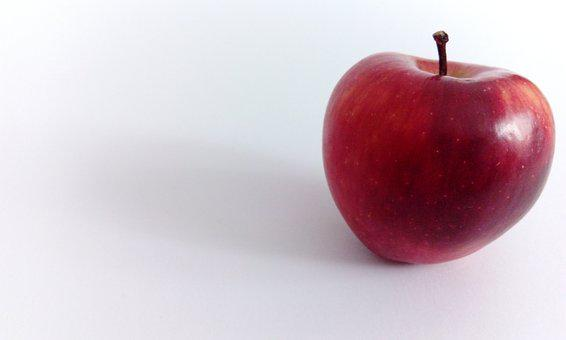 Apple, Red, Red Apple, Fruit, Healthy, Fresh, Ripe