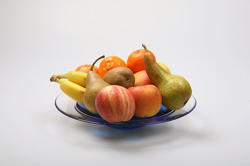 Fruits, Fruit, Fruit Bowl, Vitamins, Healthy, Food