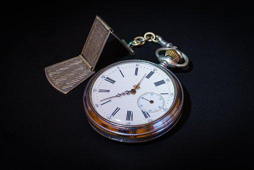 Hour S, Pocket Watch, Antique, Dial, Time, Impermanence