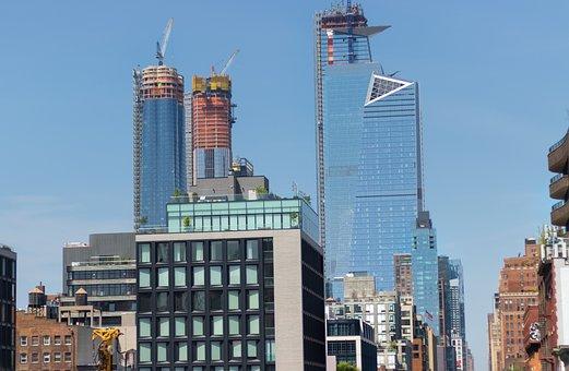 Hudson Towers, Nyc, New York Street, High Line