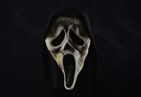 Mask, Horror, Scream, Creepy, Monster, Evil, Weird