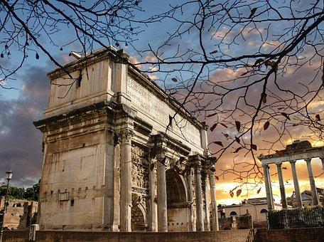 Antiquity, Foro Romano, Monument, Historian, Rome