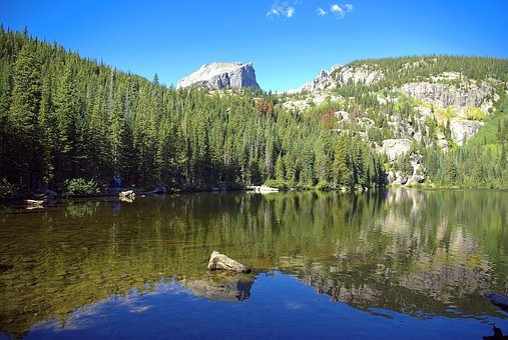 Bear Lake Trail, Lake, Mountains, Rocky, Mountain
