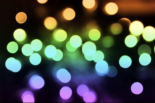 Bokeh, Background, Christmas, Pattern, Light, Lights