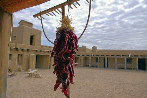 Peppers At Bent's Fort, Fort, Trading Post, Colorado